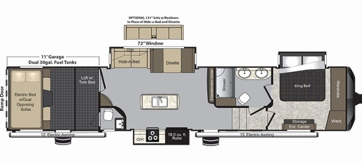 Best ideas about 2 Bedroom 5Th Wheel Floor Plans . Save or Pin HOUSE FLOOR PLAN gwatfl Now.