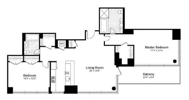 Best ideas about 2 Bedroom 5Th Wheel Floor Plans . Save or Pin 2 Bedroom Fifth Wheel Trailers Now.