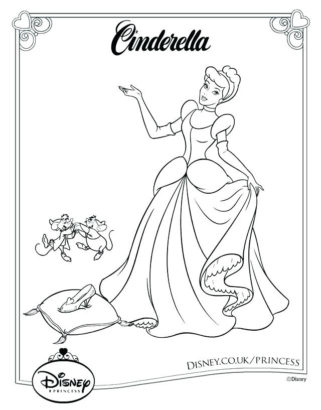 2019 Coloring Pages For Kids  Disney Princess Printable Coloring Pages For Kids Colour