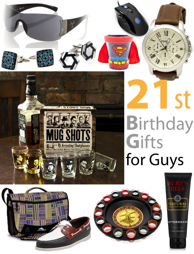 Best ideas about 21St Birthday Gift Ideas For Him . Save or Pin 21st Birthday Gifts for Guys Vivid s Now.