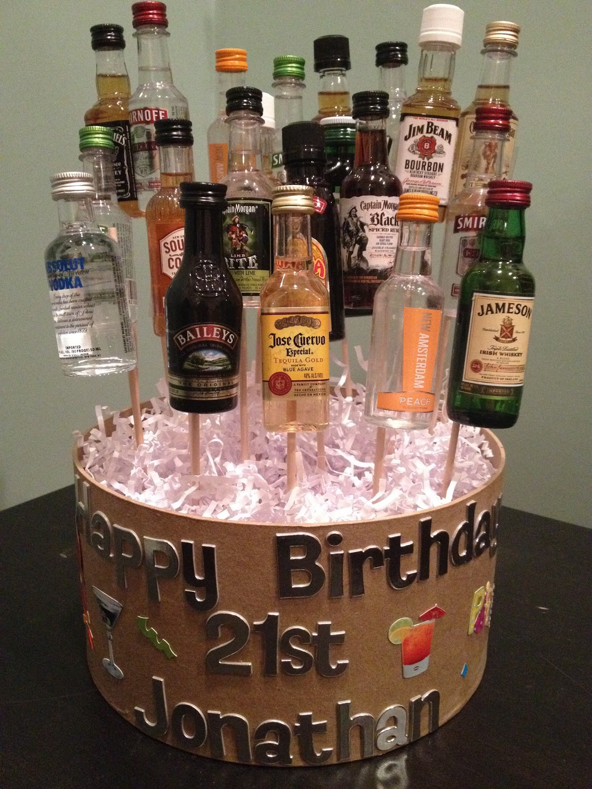 Best ideas about 21St Birthday Gift Ideas For Him . Save or Pin girlsgonefood 21st Birthday Celebration Now.