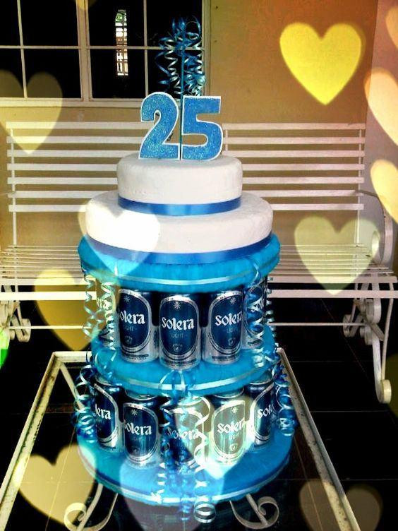 25Th Birthday Gift Ideas  25th Birthday Cake Ideas For Him