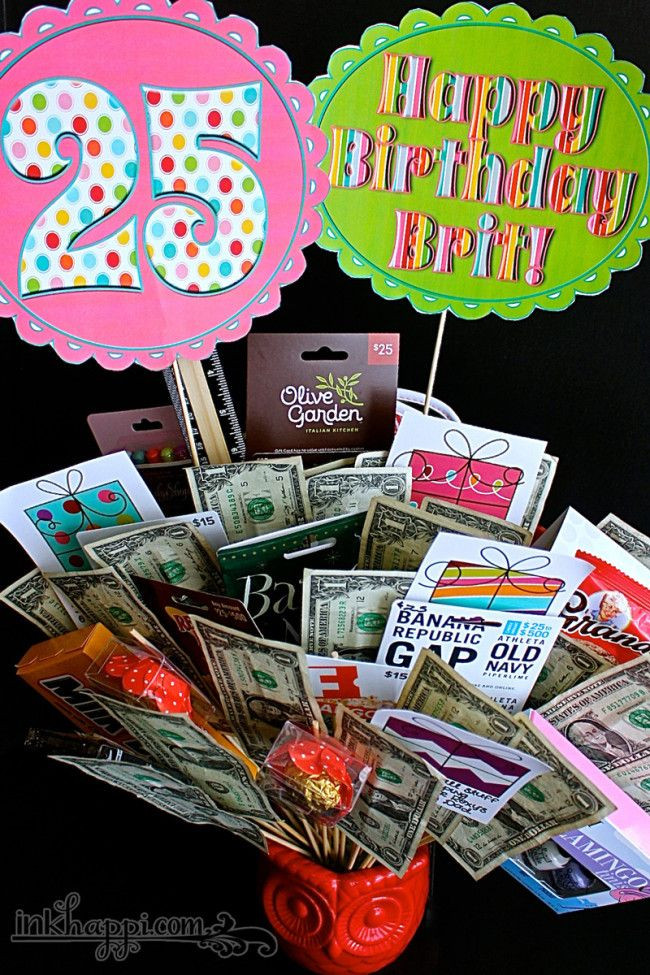 25Th Birthday Gift Ideas  Best 25 25th birthday ts ideas on Pinterest