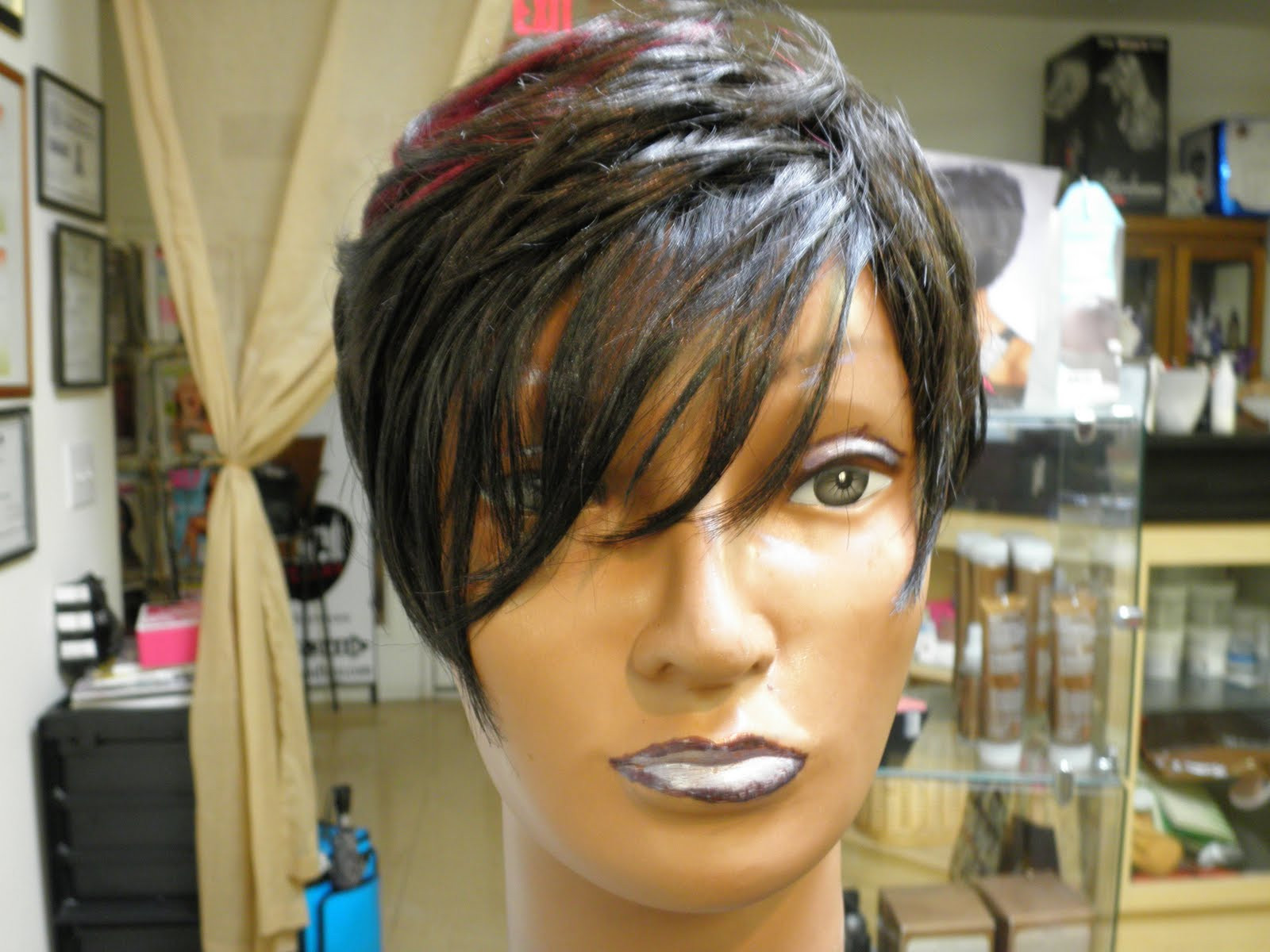 27 Piece Weave Short Hairstyle  27 piece short quick weave hairstyles Hairstyle for