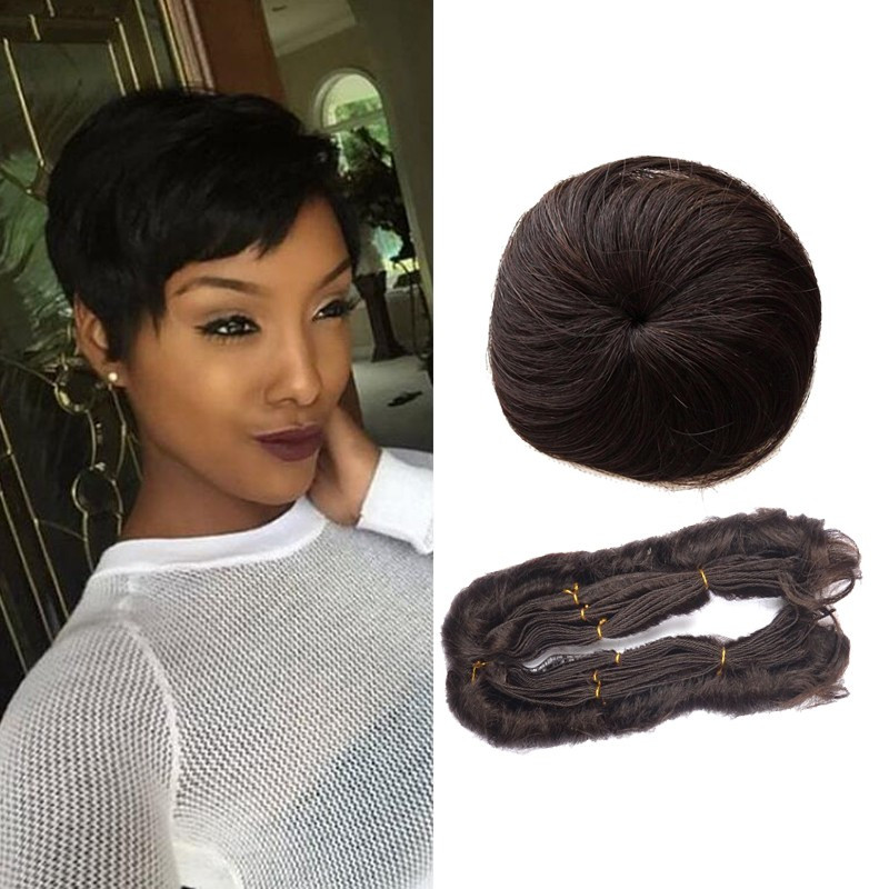 27 Piece Weave Short Hairstyle  99j 27 Pieces