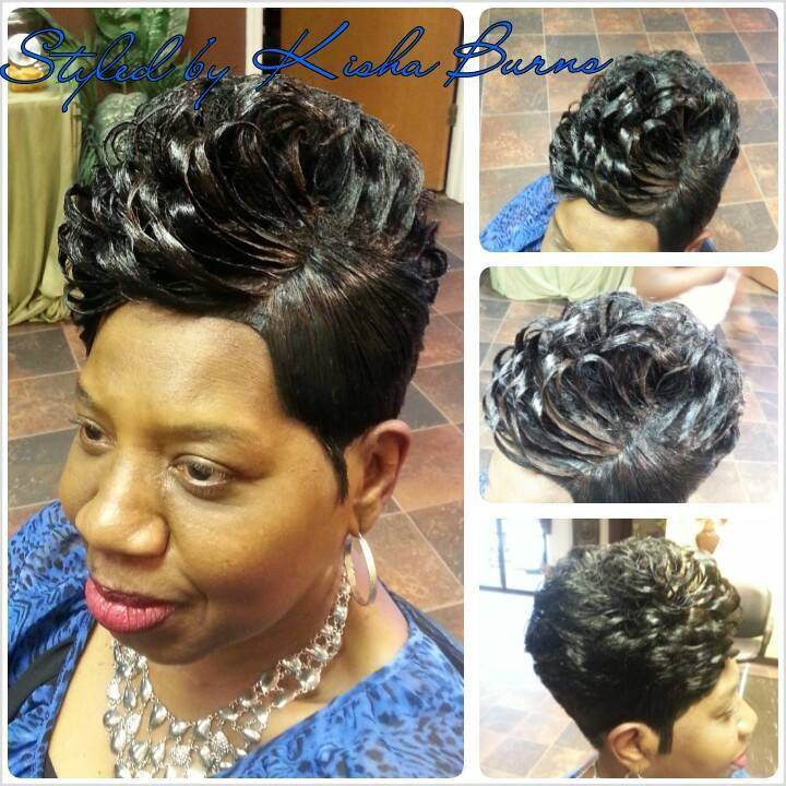 28 Piece Weave Short Hairstyles  28 Piece Quick Weave Short Hairstyle