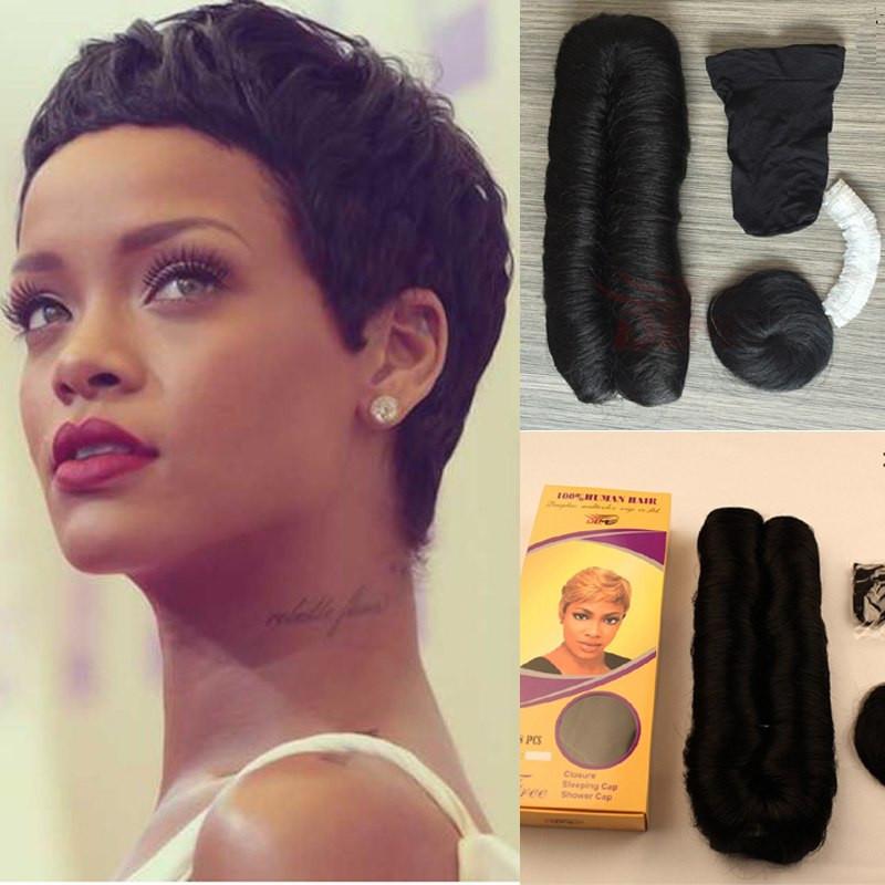 28 Piece Weave Short Hairstyles  Clearance Sale Short Brazilian Short Human Hair 28 Pieces