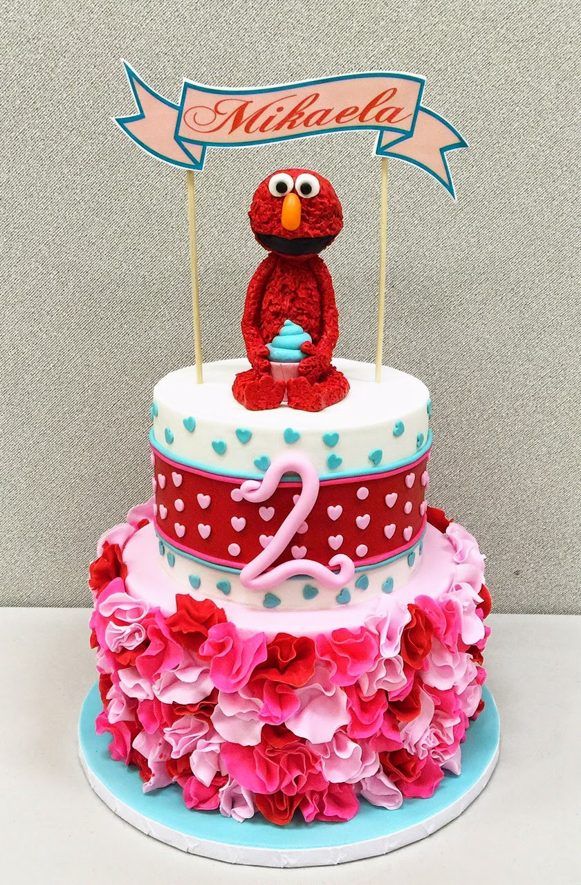 Best ideas about 2nd Birthday Cake . Save or Pin RooneyGirl Cupcakes Starting from Scratch Elmo 2nd Now.