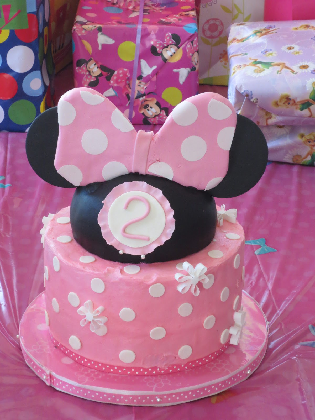 Best ideas about 2nd Birthday Cake . Save or Pin J s Cakes Minnie Mouse Second Birthday Cake Now.