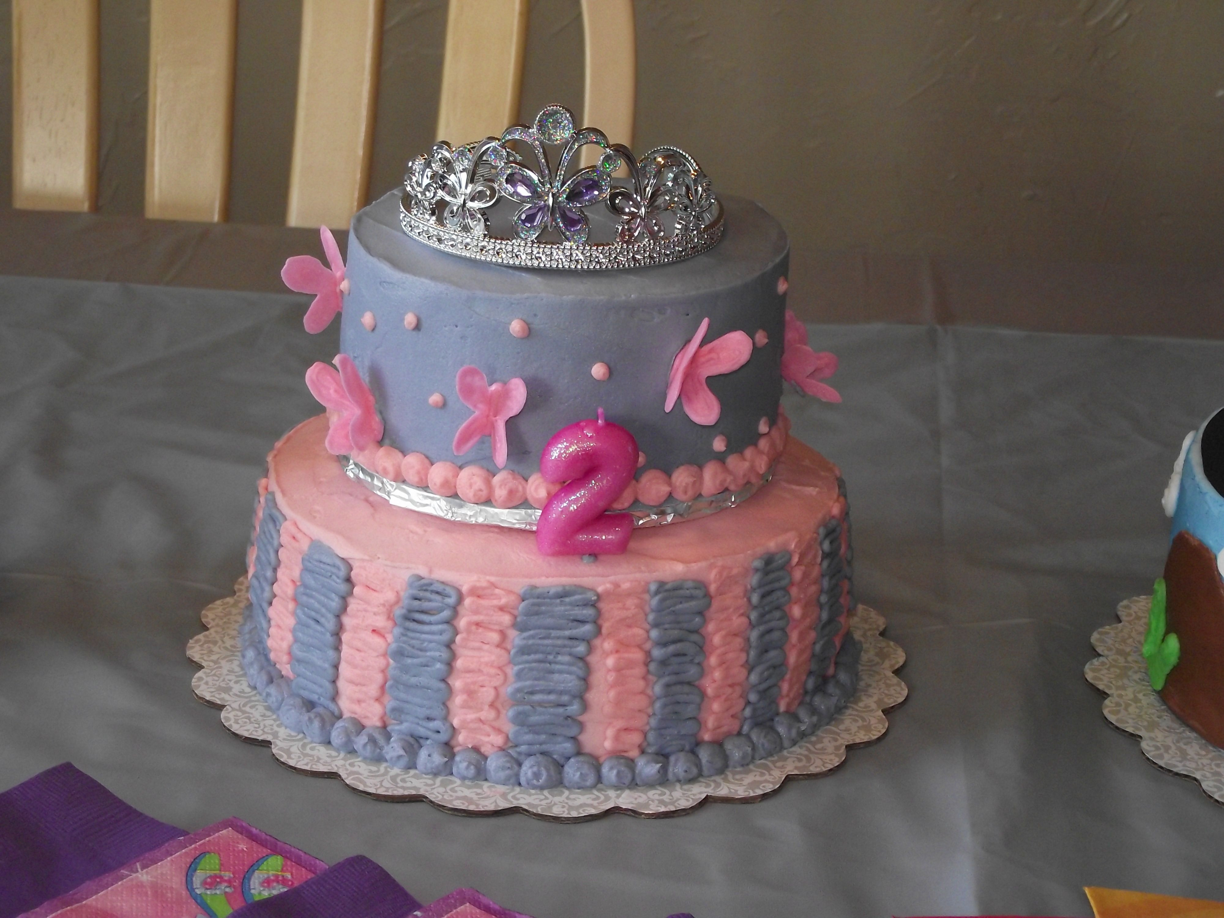 Best ideas about 2nd Birthday Cake . Save or Pin My little girl s 2nd Birthday Cake Now.