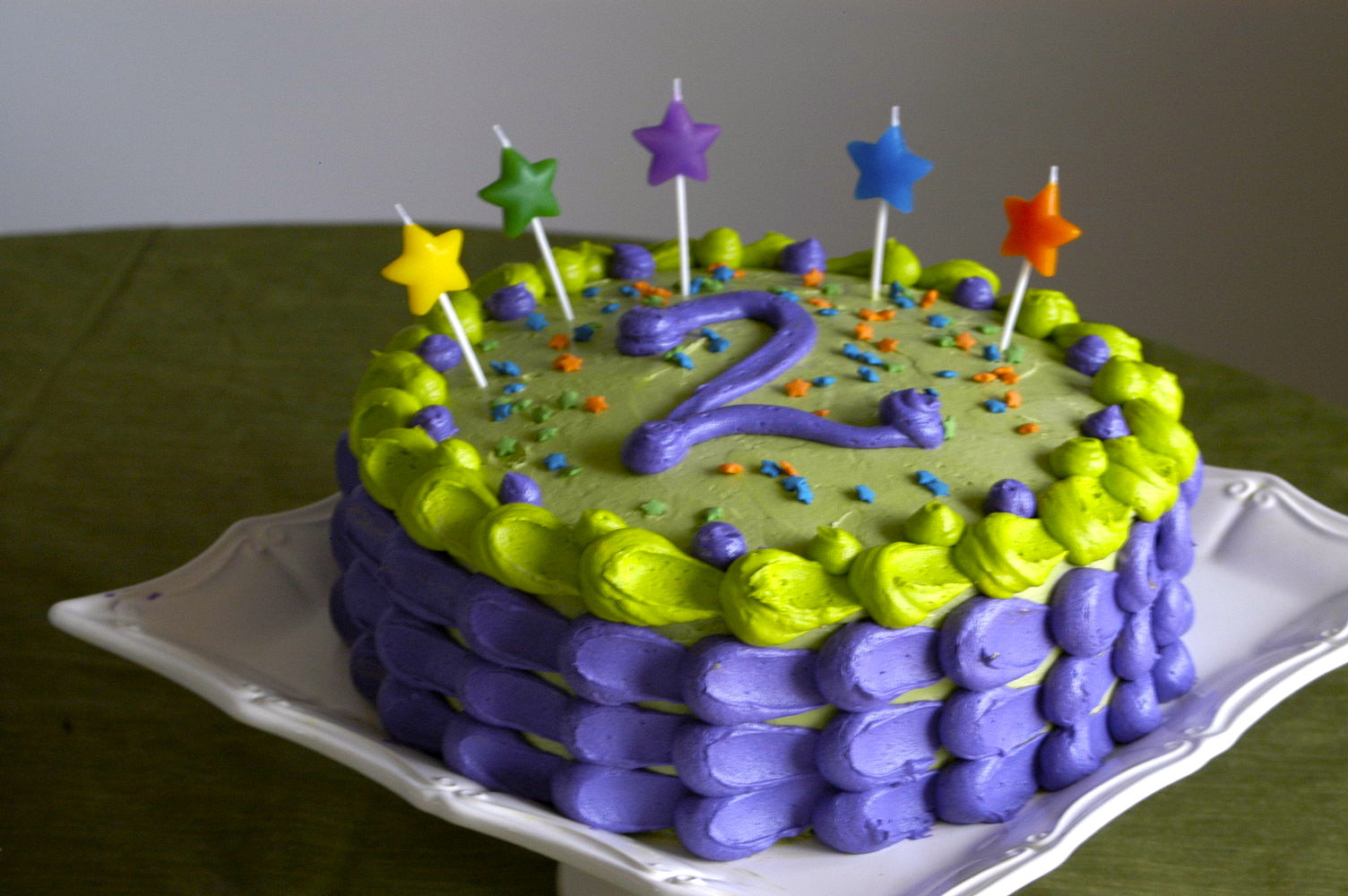 Best ideas about 2nd Birthday Cake . Save or Pin Jack's Funfetti 2nd Birthday Cake – Hickory Creek Lane Now.