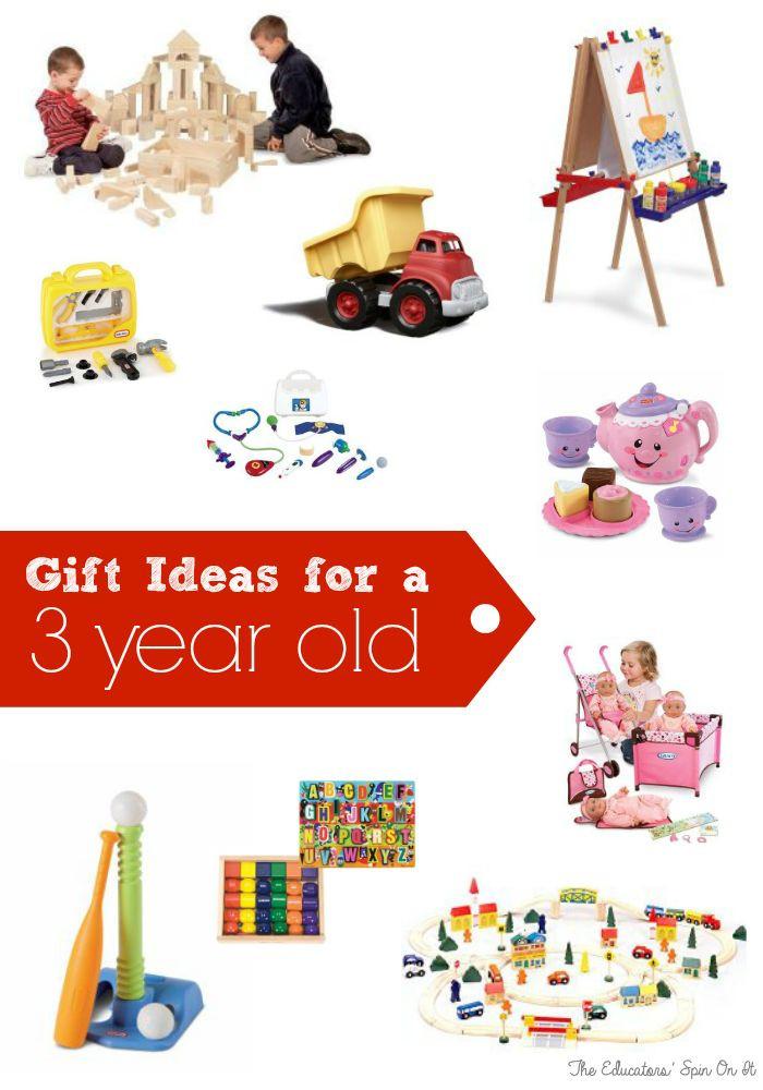 3 Yr Old Birthday Gift Ideas Boys  Birthday Gift Ideas for Three Years Old