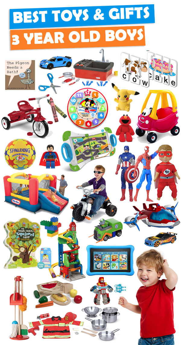 3 Yr Old Birthday Gift Ideas Boys  Best Gifts And Toys For 3 Year Old Boys 2018