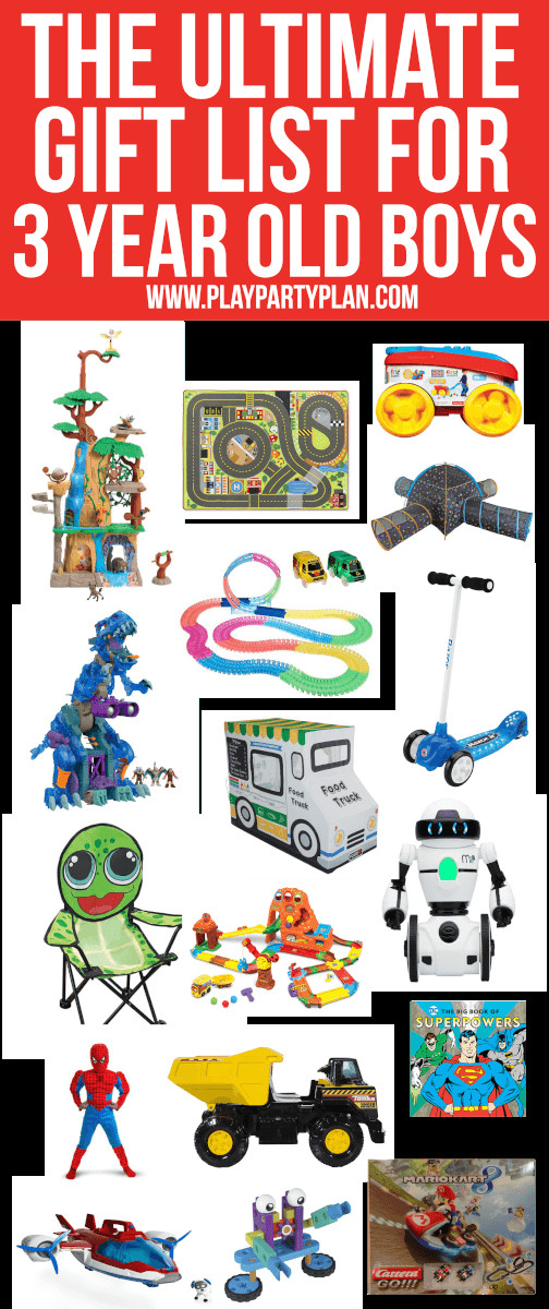 3 Yr Old Birthday Gift Ideas Boys  25 Amazing Gifts & Toys for 3 Year Olds Who Have Everything