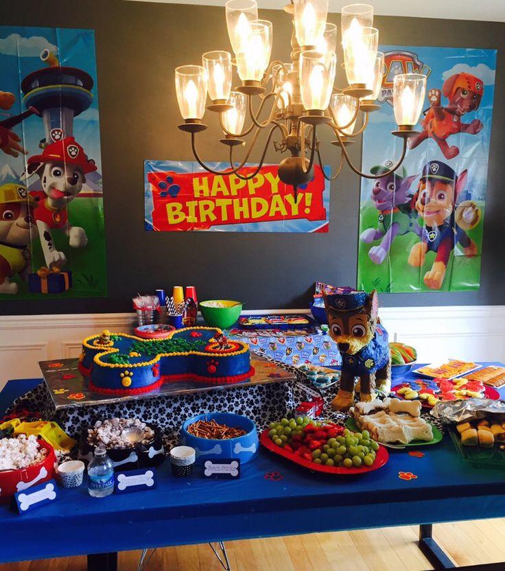 3 Yr Old Birthday Gift Ideas Boys  Paw Patrol Birthday Party for 3 year olds