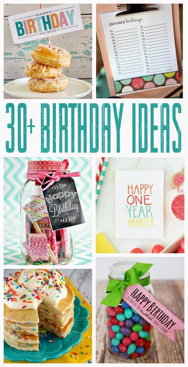 30 Birthday Party Ideas  30 Fun Birthday Ideas