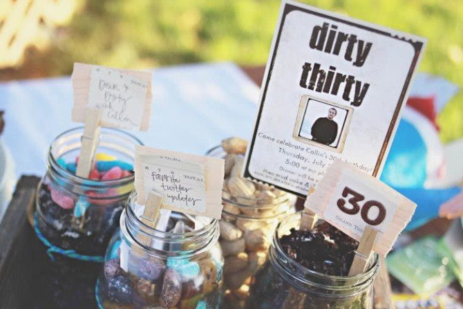 30 Birthday Party Ideas  12 Unfor table 30th Birthday Party Ideas Canvas Factory