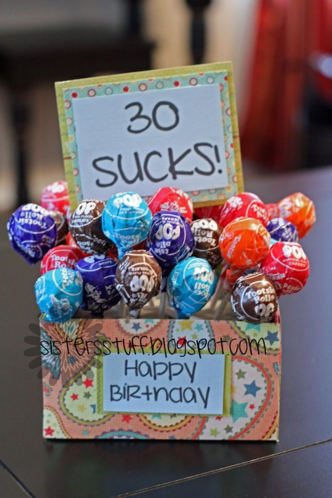 Best ideas about 30 Birthday Present Ideas . Save or Pin Birthday Gift Ideas iCraftGifts Blog Now.