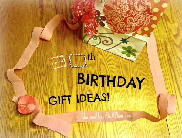 Best ideas about 30 Birthday Present Ideas . Save or Pin 30th Birthday Gift Ideas Now.