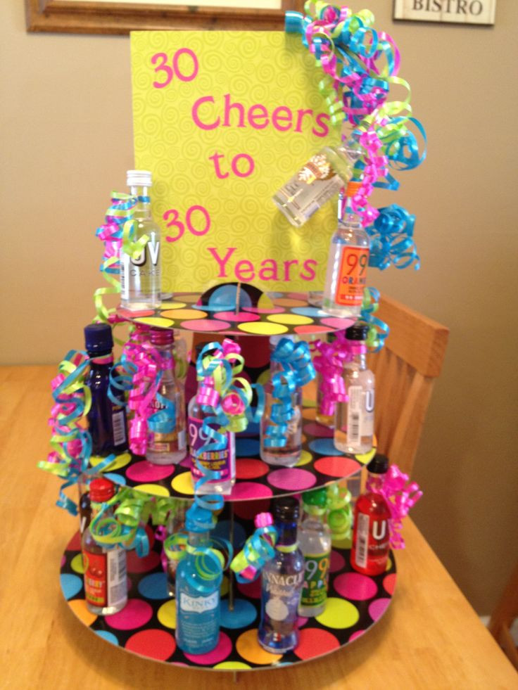 Best ideas about 30 Birthday Present Ideas . Save or Pin 30 Cheers to 30 Years 30th Birthday t Now.