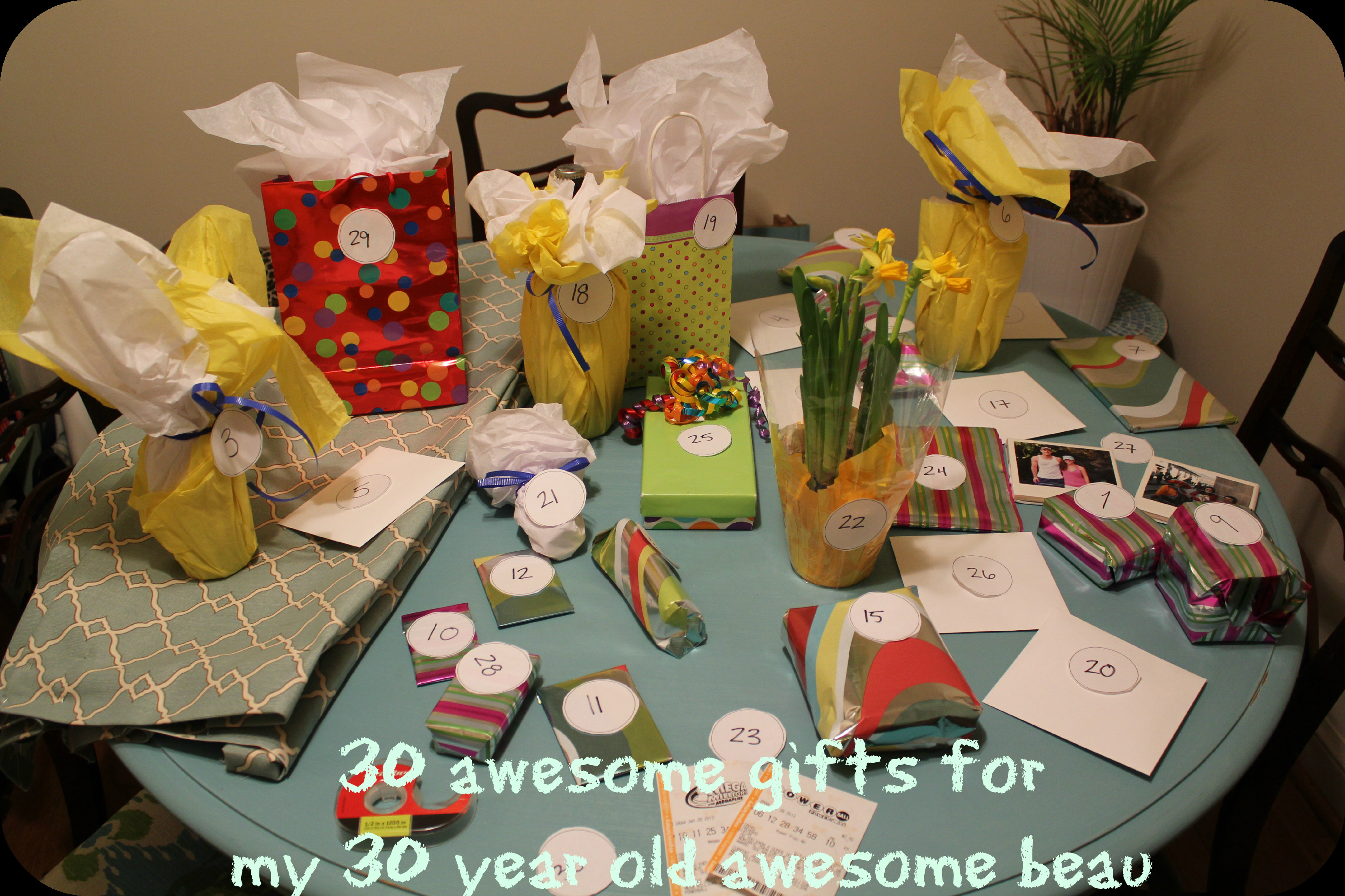 Best ideas about 30 Birthday Present Ideas . Save or Pin 30 birthday ts for 30th birthday Now.
