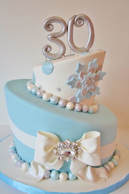 Best ideas about 30th Birthday Cake . Save or Pin 30th Birthday Cakes NJ Winter Wonderland Custom Cakes Now.