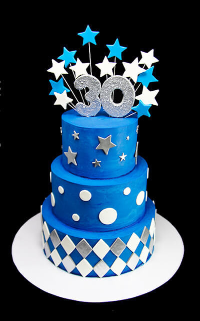 Best ideas about 30th Birthday Cake . Save or Pin Glam 30th Birthday Cake Butterfly Bake Shop in New York Now.