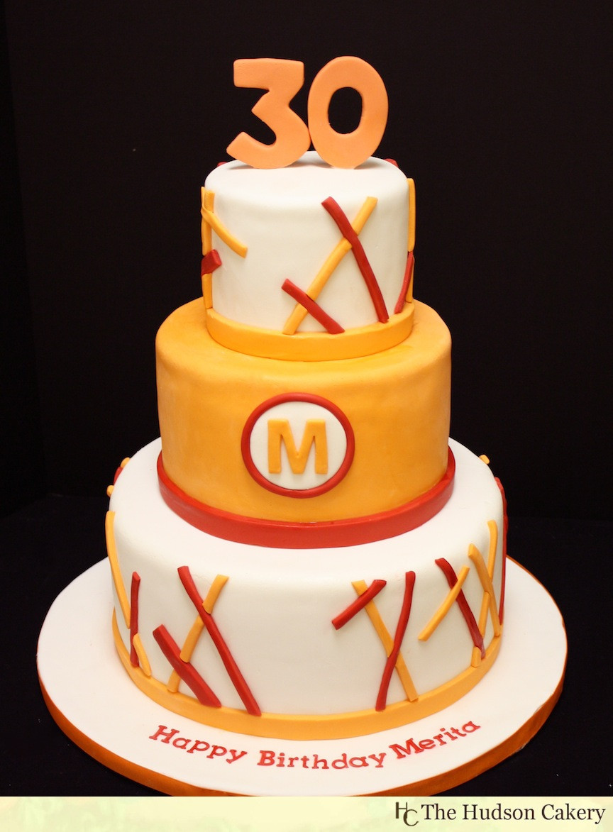Best ideas about 30th Birthday Cake . Save or Pin Mod 30th Birthday Cake Now.