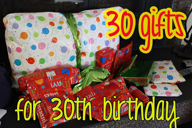30Th Birthday Gift Ideas For Husband  love elizabethany t idea 30 ts for 30th birthday