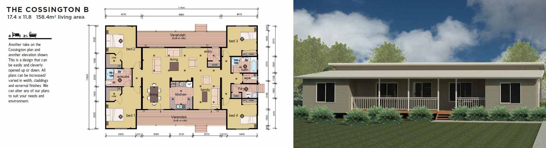 Best ideas about 4 Bedroom Modular Homes . Save or Pin 4 6 Bedroom Manufactured Home Design Plans Now.