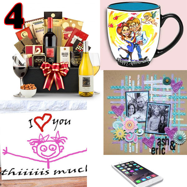 4 Year Anniversary Gift Ideas For Him  Anniversary Gifts 4 Year Anniversary Gift Collage ideas