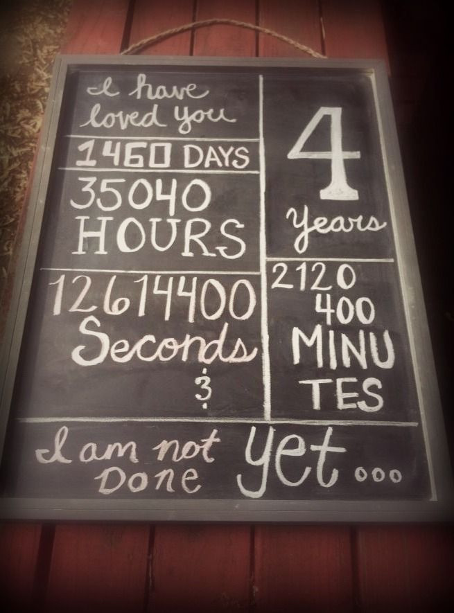 Best ideas about 4 Year Wedding Anniversary Gift Ideas . Save or Pin 4 Year Anniversary Quotes QuotesGram Now.