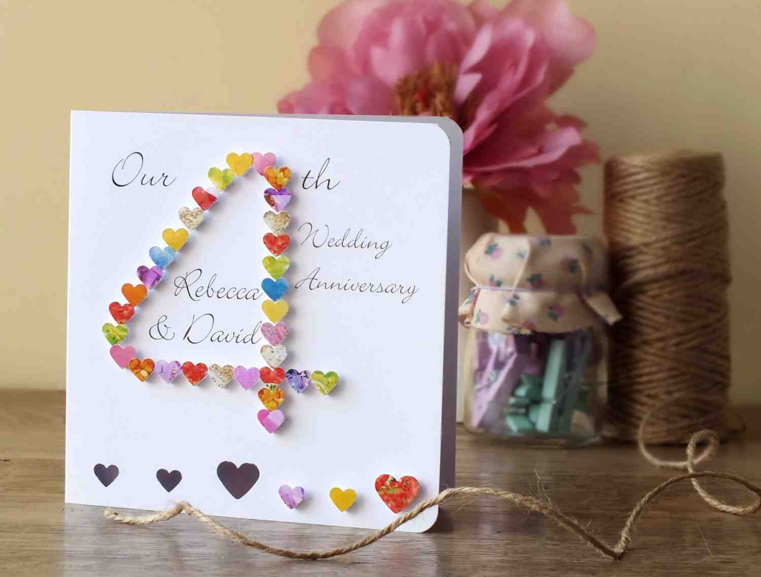 Best ideas about 4 Year Wedding Anniversary Gift Ideas . Save or Pin 4th Wedding Anniversary Gifts Wedding and Bridal Inspiration Now.