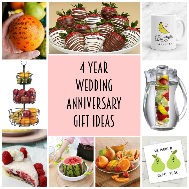 Best ideas about 4 Year Wedding Anniversary Gift Ideas . Save or Pin 4th anniversary t ideas Archives Lydi Out Loud Now.