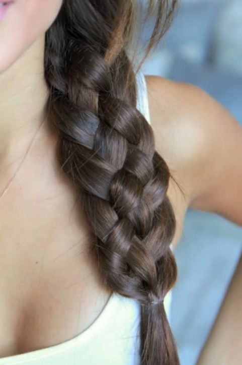 5 Braids Hairstyles  Five Strand Braid Tutorial Video How to do A Beautiful 5