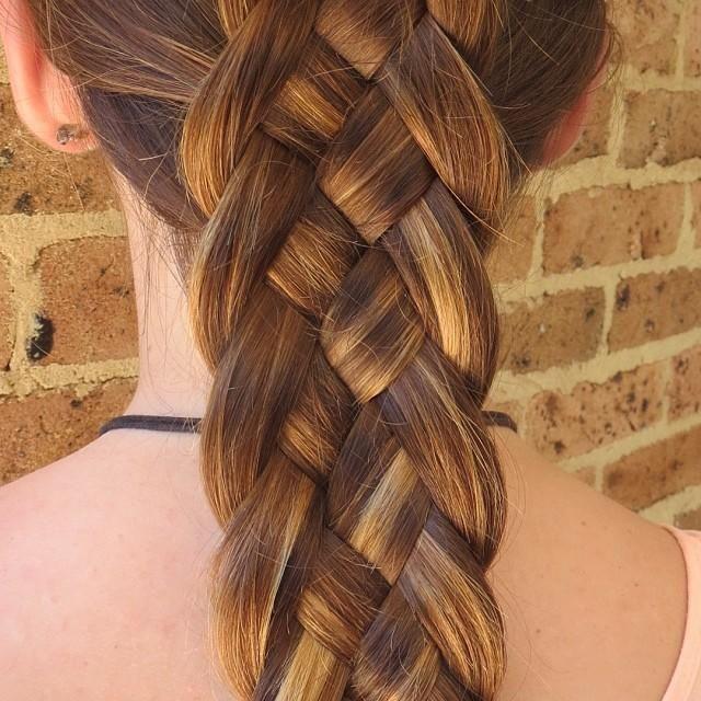5 Braids Hairstyles  5 strand dutch braid
