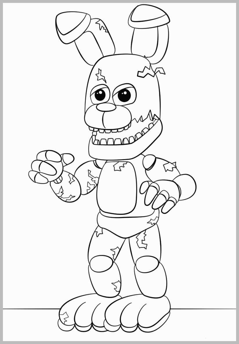 5 Nights At Freddy'S Printable Coloring Pages  Five Nights at Freddy s Coloring Pages Cute Five Nights at