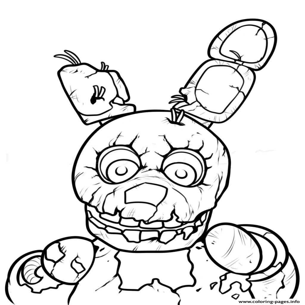 5 Nights At Freddy'S Printable Coloring Pages  Lovely Five Nights at Freddy s Coloring Pages – advance