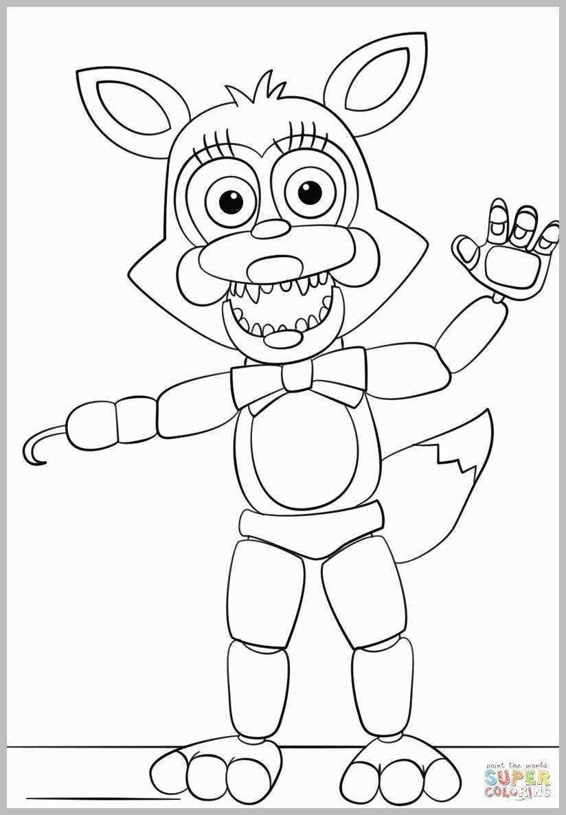5 Nights At Freddy'S Printable Coloring Pages  69 Great Pics Five Nights at Freddy s Coloring Pages