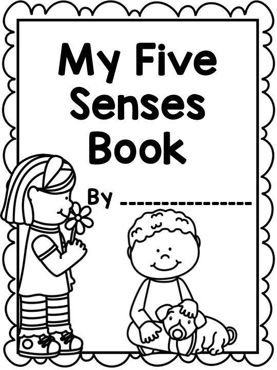 5 Senses Coloring Pages  Five Senses Coloring Pages Coloring Home