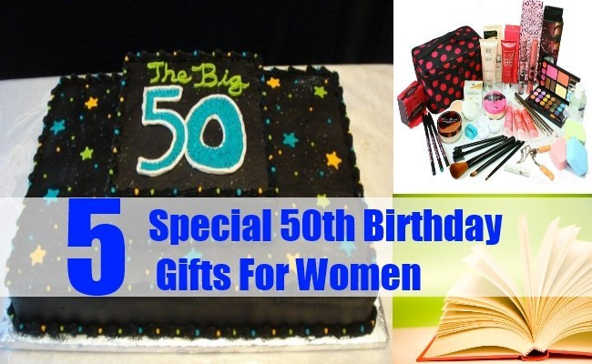 50Th Birthday Gift Ideas For Women  Special 50th Birthday Gifts For Women Gift Ideas For
