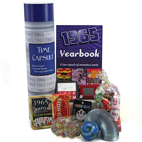 Best ideas about 50th Birthday Gifts For Men . Save or Pin 1965 Time Capsule 50th Birthday Gift for Men or Women Now.