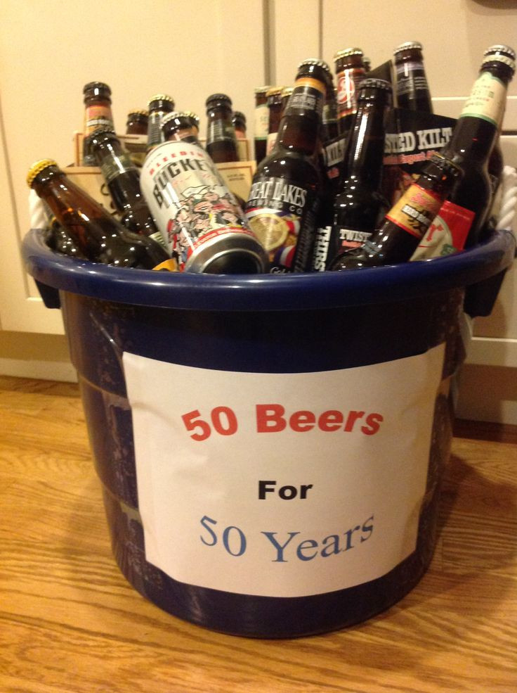 Best ideas about 50th Birthday Gifts For Men . Save or Pin 50th birthday t for your guy Great Gifts Now.