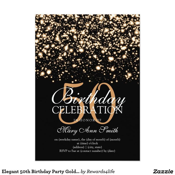50th Birthday Invitations For Her  Birthday Invitation Templates 50th birthday invitation