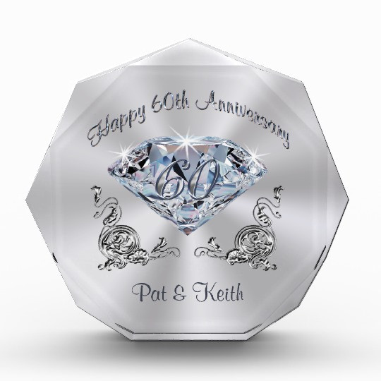60 Wedding Anniversary Gift Ideas  Personalized 60th Wedding Anniversary Gift Ideas