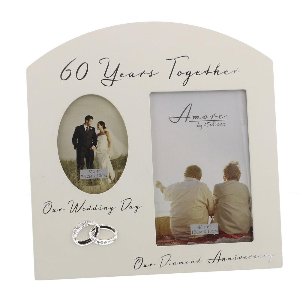 60 Wedding Anniversary Gift Ideas  60th Diamond Wedding Anniversary Gift Ideas Double Wooden