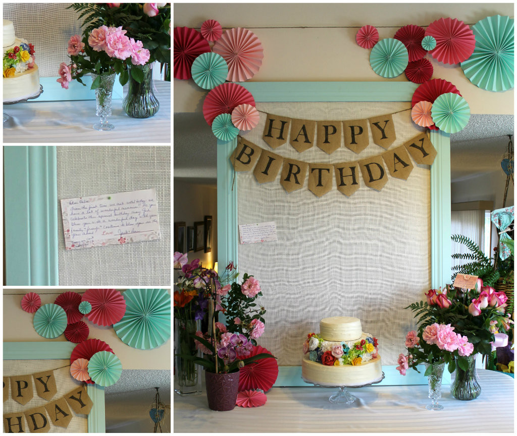 Best ideas about 60th Birthday Decor . Save or Pin My Mom s 60th Birthday Party Joyfully Home Now.