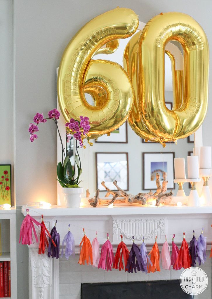 Best ideas about 60th Birthday Decor . Save or Pin 60th Birthday Celebration Now.