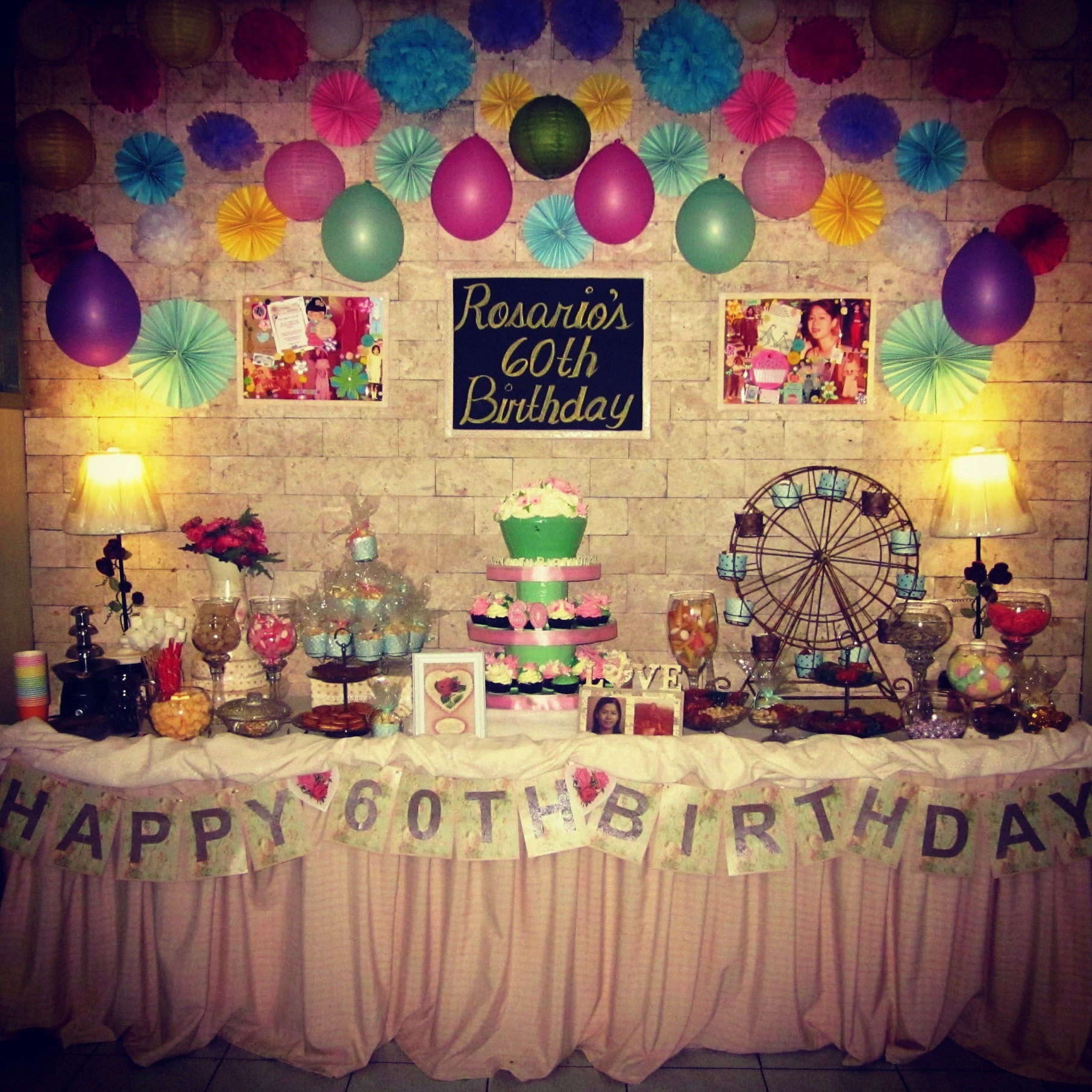 60th Birthday Decorations For Mom  60th birthday party ideas for mom plus mum 60th birthday