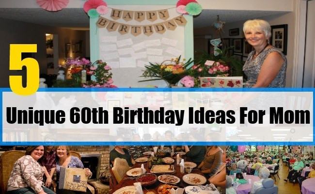 60th Birthday Gift Ideas For Mom  Gift Ideas For 60th Birthday For Mom